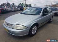 2001 Ford Falcon Auii Forte Silver Automatic 4sp A Sedan for Sale