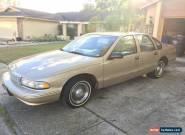 1996 Chevrolet Caprice Classic Sedan 4-Door for Sale