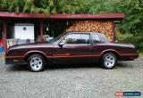 Classic 1986 Chevrolet Monte Carlo for Sale