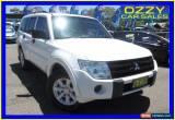 Classic 2011 Mitsubishi Pajero NW MY12 GLX LWB (4x4) White Automatic 5sp Wagon for Sale