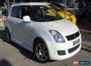 2008 Suzuki Swift EZ 07 Update S Limited Edition Pearl White Manual 5sp M for Sale