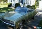 Classic 1968 Chevrolet Impala Base Convertible 2-Door for Sale