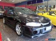 2001 Mitsubishi Lancer CE GLI Black Manual 5sp M Coupe for Sale
