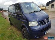 VW TRANSPORTER 2.5 TDI 2007 T5 12 MONTHS MOT LWB AUTOMATIC for Sale