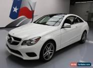2014 Mercedes-Benz E-Class Base Coupe 2-Door for Sale
