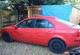Classic 2004 FORD MONDEO GHIA X 24V AUTO RED for Sale