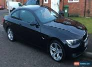 2007 BMW 320D SE BLACK COUPE 6 SPEED  for Sale