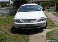 2001  ford falcon forte s/wagon duel fuel for Sale