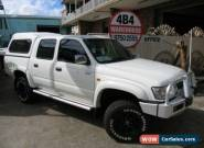 2005 Toyota Hilux KZN165R SR5 (4x4) White Manual 5sp M Dual Cab Pick-up for Sale