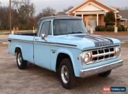 1968 Dodge Other Pickups 100 for Sale