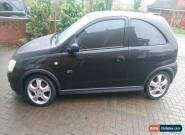 2005 VAUXHALL CORSA 1.8 SRI 16V BLACK for Sale