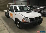 2009 Nissan Navara turbo diesel 2.5L YD25 ute 5spd repair front damaged drives for Sale