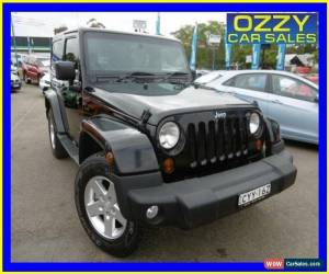 Classic 2013 Jeep Wrangler JK MY13 Renegade Sport (4x4) Black Manual 6sp M Hardtop for Sale