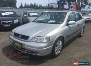 2002 Holden Astra TS SRi Silver Manual 5sp M Hatchback for Sale