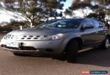 Classic Nissan murano ti 4x4 for Sale