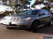 Nissan murano ti 4x4 for Sale