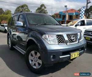 Classic 2005 Nissan Pathfinder R51 TI (4x4) Blue Automatic 5sp A Wagon for Sale