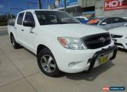 2006 Toyota Hilux TGN16R MY07 Workmate White Manual 5sp M 4D Utility for Sale