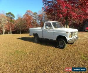 Classic 1983 Ford F-150 Base Standard Cab Pickup 2-Door for Sale