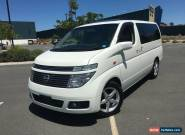 2003 Nissan Elgrand E51 Sunroofs Low Kms White Automatic 5sp A Wagon for Sale