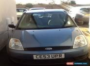 2003 FORD FIESTA FINESSE TDCI BLUE for Sale