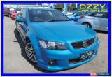 Classic 2012 Holden Commodore VE II MY12 SS Blue Manual 6sp M Sedan for Sale
