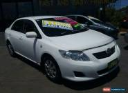 2009 Toyota Corolla ZRE152R MY09 Ascent White Automatic 4sp A Sedan for Sale