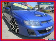 2005 Holden Commodore VZ SSZ Blue Manual 6sp M Utility for Sale