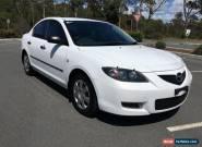 2007 Mazda 3 Neo Manual White Manual 5sp M Sedan for Sale