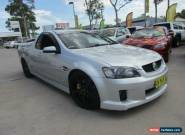 2009 Holden Ute VE MY10 SS V Silver Manual 6sp M Utility for Sale