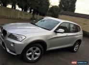 2014 BMW X3 XDRIVE20D SE AUTO SILVER for Sale