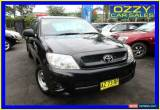 Classic 2008 Toyota Hilux GGN15R 07 Upgrade SR Black Automatic 5sp A Dual Cab Pick-up for Sale