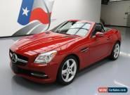2015 Mercedes-Benz SLK-Class Base Convertible 2-Door for Sale