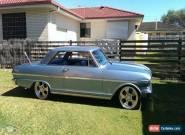 1963 Chevrolet Nova Blue Automatic 3sp A Hardtop for Sale