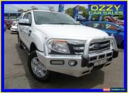 2013 Ford Ranger PX XLT 3.2 (4x4) White Automatic 6sp A Dual Cab Utility for Sale