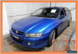 Classic 2005 Holden Commodore VZ SV6 Blue Automatic 5sp A Sedan for Sale