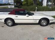 1986 Chevrolet Corvette Base 2dr Convertible for Sale
