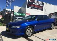 2005 Holden Crewman VZ S Blue Automatic 4sp A Crewcab for Sale
