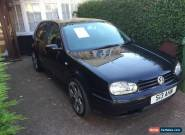 Black 2003 (52 Plate) VW Volkswagen 2.0 GTI Golf 5dr Private Plate for Sale