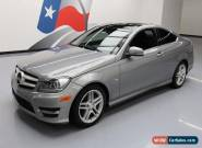 2012 Mercedes-Benz C-Class Base Coupe 2-Door for Sale