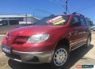 2006 Mitsubishi Outlander ZF MY06 LS Red Automatic 4sp A Wagon for Sale