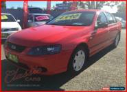 2007 Ford Falcon BF MkII XT Red Automatic 4sp A Sedan for Sale