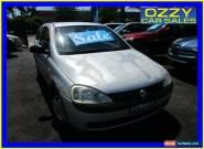 2002 Holden Barina XC Equipe Silver Manual 5sp M Hatchback for Sale