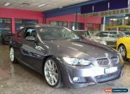 2008 BMW 325I E92 Graphite Automatic 6sp A Coupe for Sale