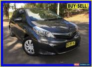 2012 Toyota Yaris NCP131R YRX Grey Automatic 4sp A Hatchback for Sale