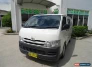 2007 Toyota Hiace TRH201R MY07 Upgrade LWB White Manual 5sp M Van for Sale