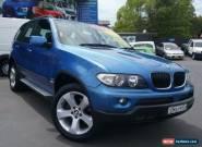 2004 BMW X5 E53 3.0I Blue Automatic 5sp A Wagon for Sale