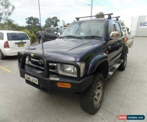 Classic 1999 Toyota Hilux RZN169R Manual 5sp M Utility for Sale