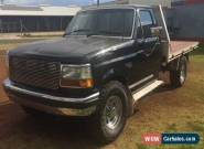 FORD F250 Black  for Sale