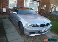 2005 BMW 318CI SPORT COUPE SILVER for Sale